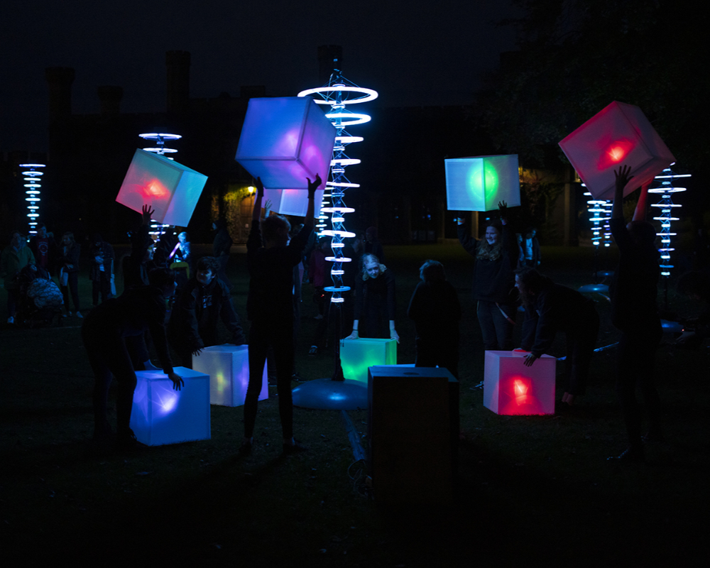 Light box parade Frequency festival