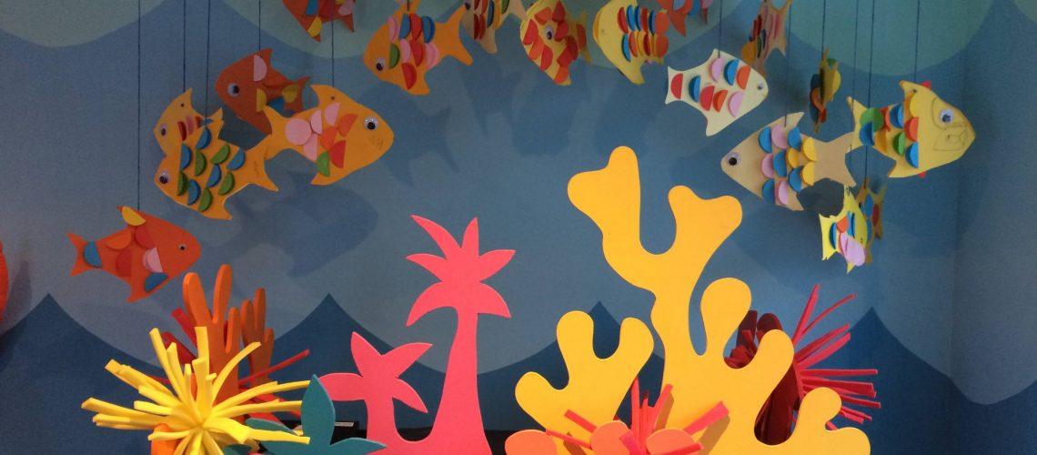 Under the sea Library design
